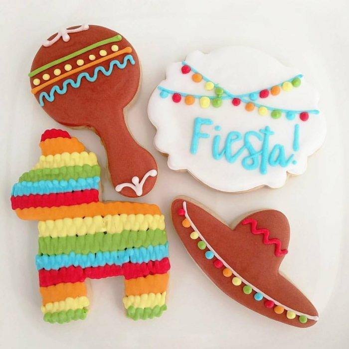 Fiesta Custom Sugar Cookies Houston Texas