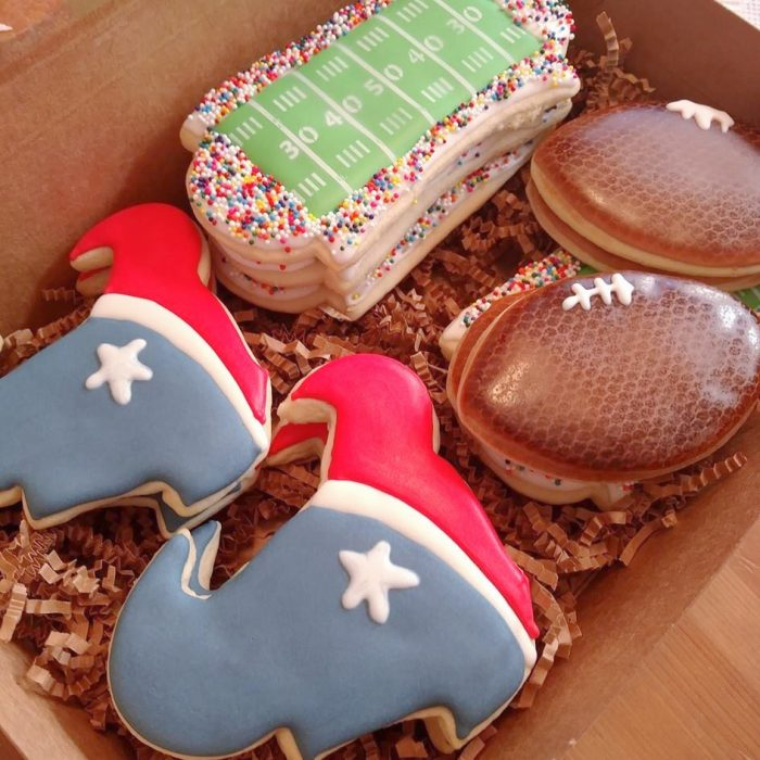 Texans Cookies