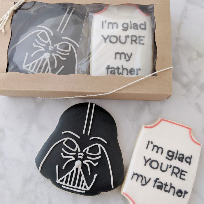 Father's Day Cookie - Darth Vader