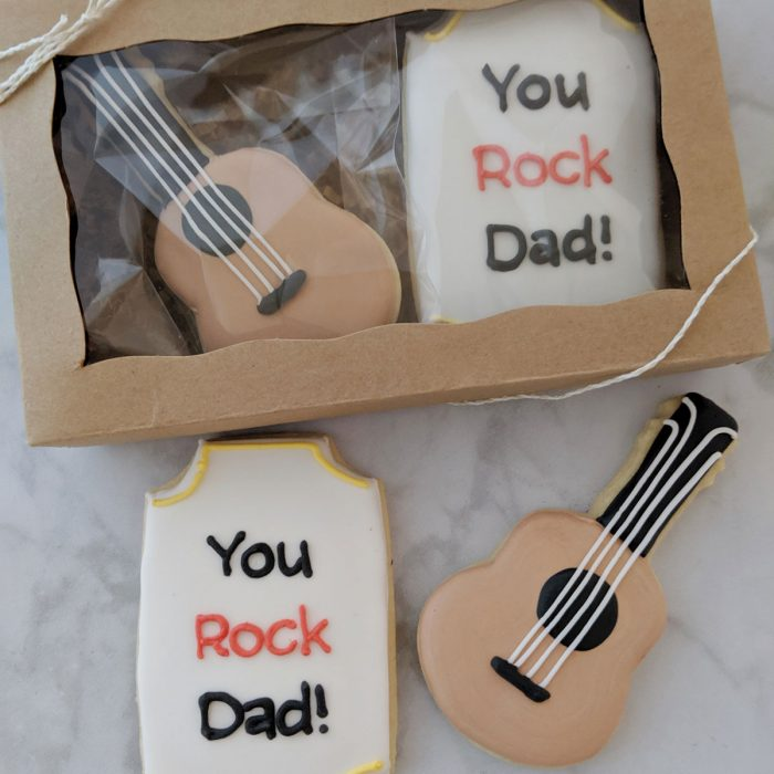 Father's Day Cookie - Guitar