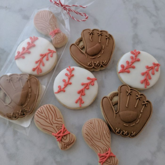 Father's Day Cookie - Mini Baseball