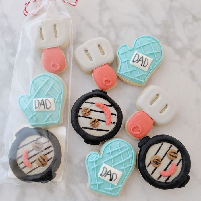 Father's Day Cookie - Mini Grill Set