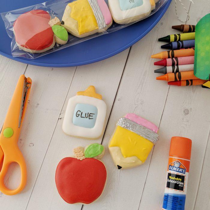 Back to School Mini Cookies