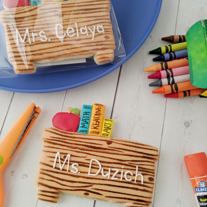 Back to School Teachers Desk
