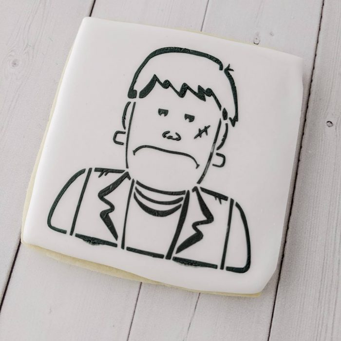 Paint Your Own Frankenstein Cookie