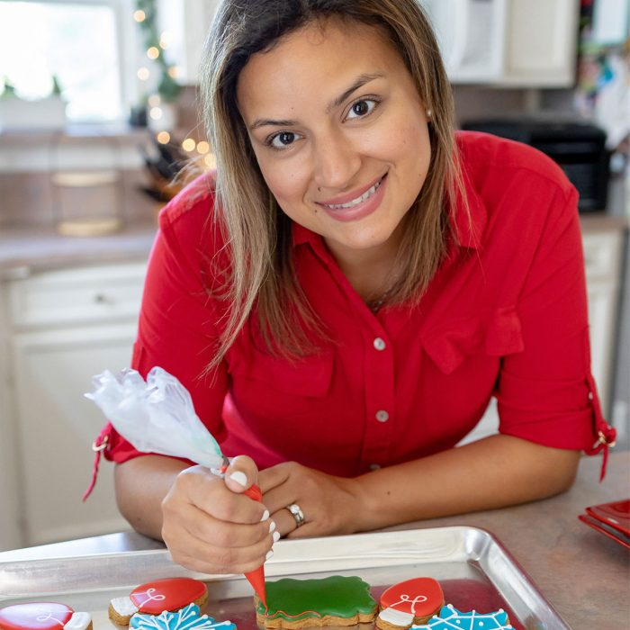 Jacqueline, owner of Tudor House Cookies