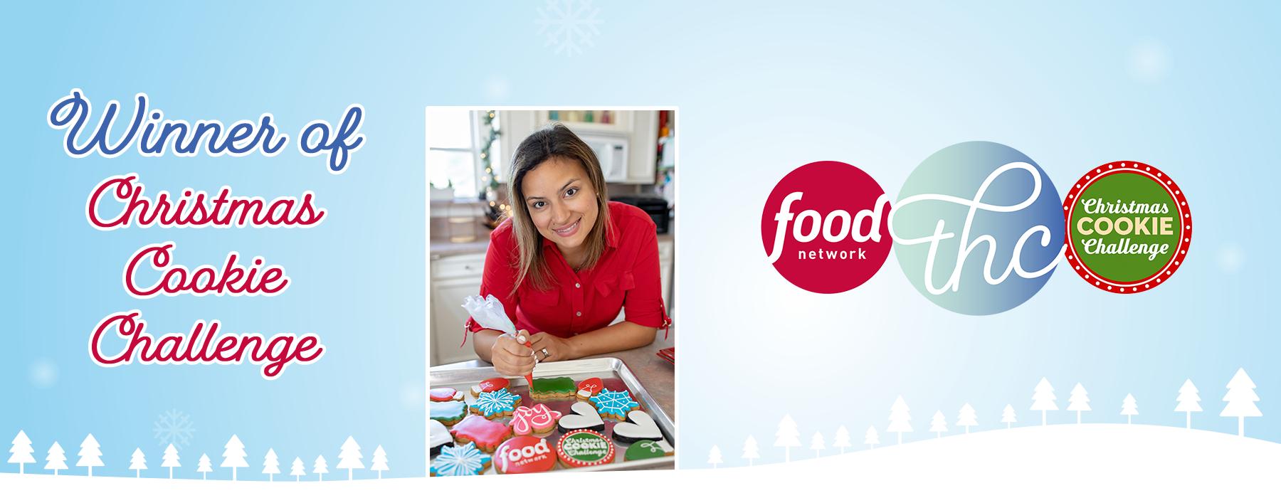 Winner of Food Network's Christmas Cookie Challenge!